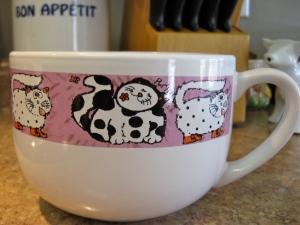 Giant Cat Mug