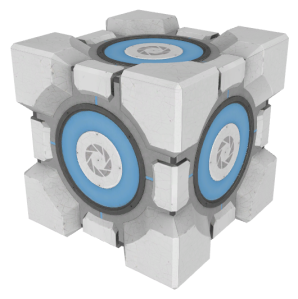 The Storage Cube from Portal 2