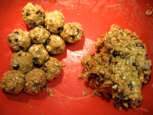 Oatmeal Raisin Cookie Dough